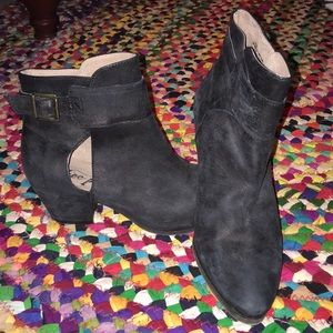 brand new free people buckle booties